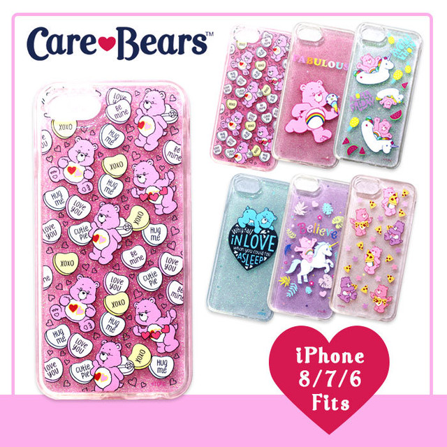 【Care Bears×ViVi】TPU ラメ iPhoneケース