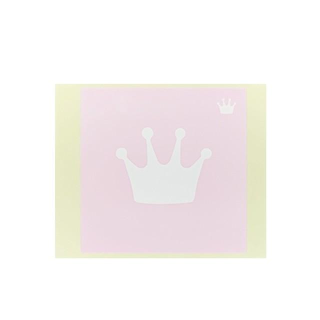 [テンプレートシール]  王冠 (10枚入)