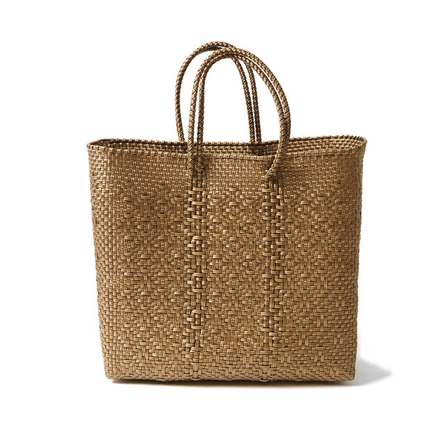 MERCADO BAG ROMBO-Gold(M)