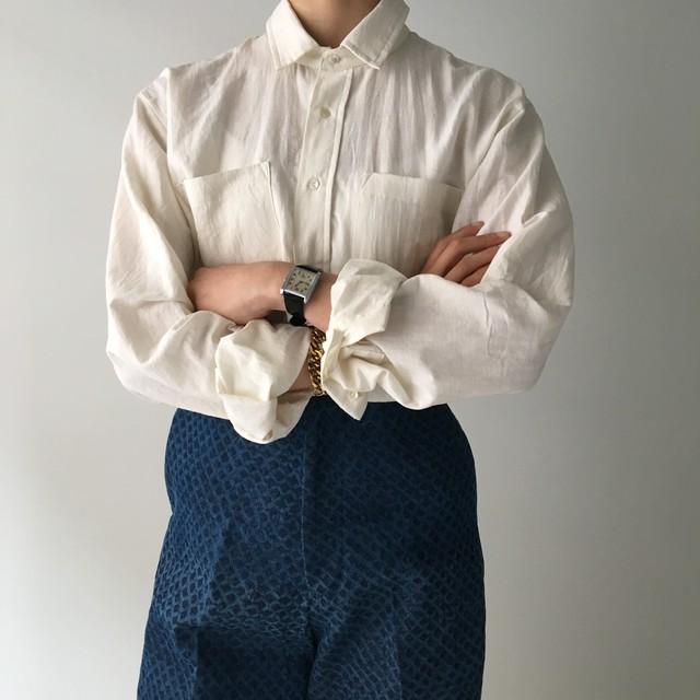 "Unisex Long Sleeve Shirt ""Natural White"""