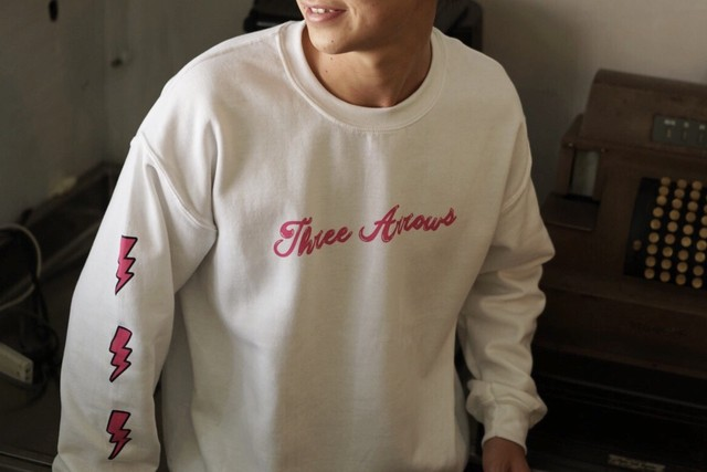 【11/6 21:00 販売開始】Candee logo Sweat(white)
