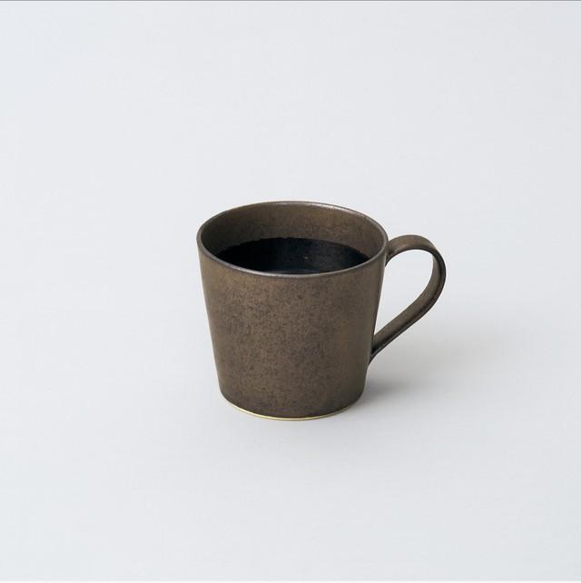 スープカップ  (ブロンズ釉)