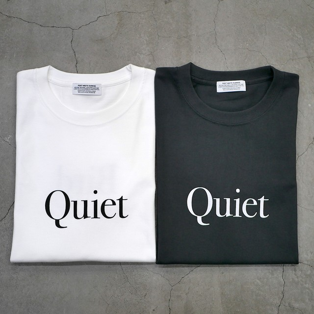 【NEW STYLE】SILENT POETS / T-SHIRTS(QUIET BIRD)
