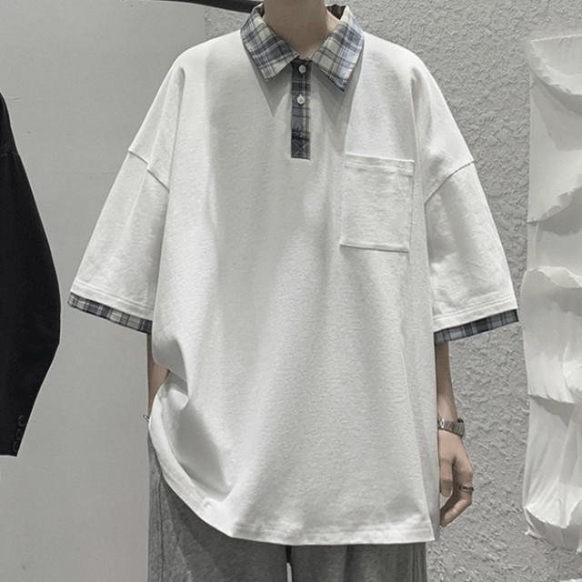 point check polo shirt PD2808