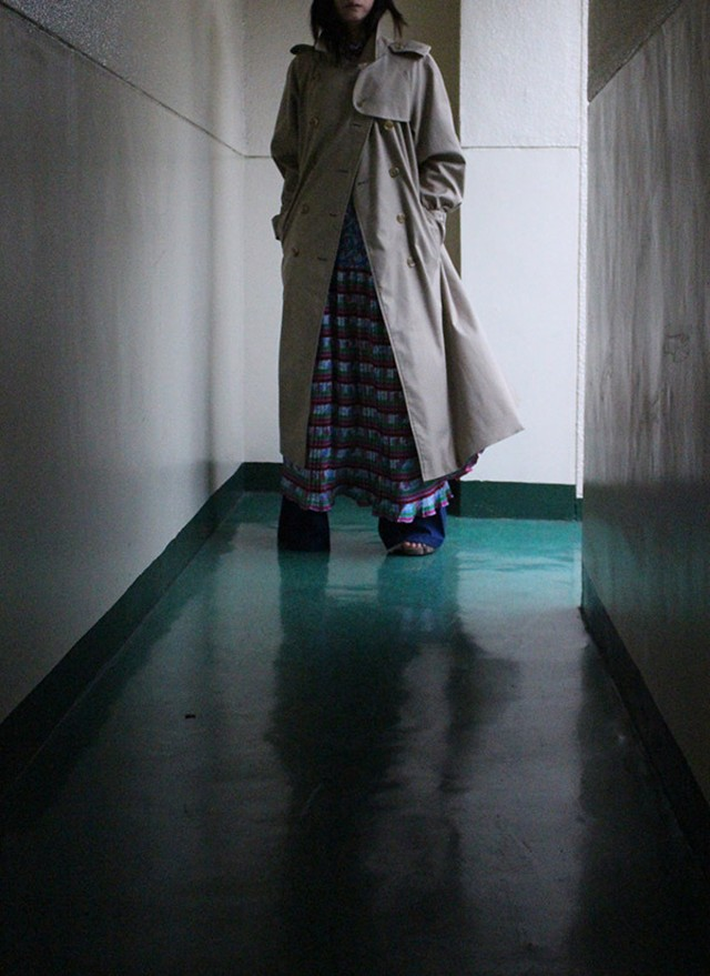 80s burberry trenchi coat