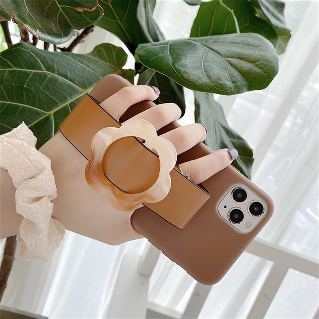 Portable flower wristband iphone case