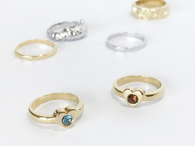 Courage ring ー gold ー