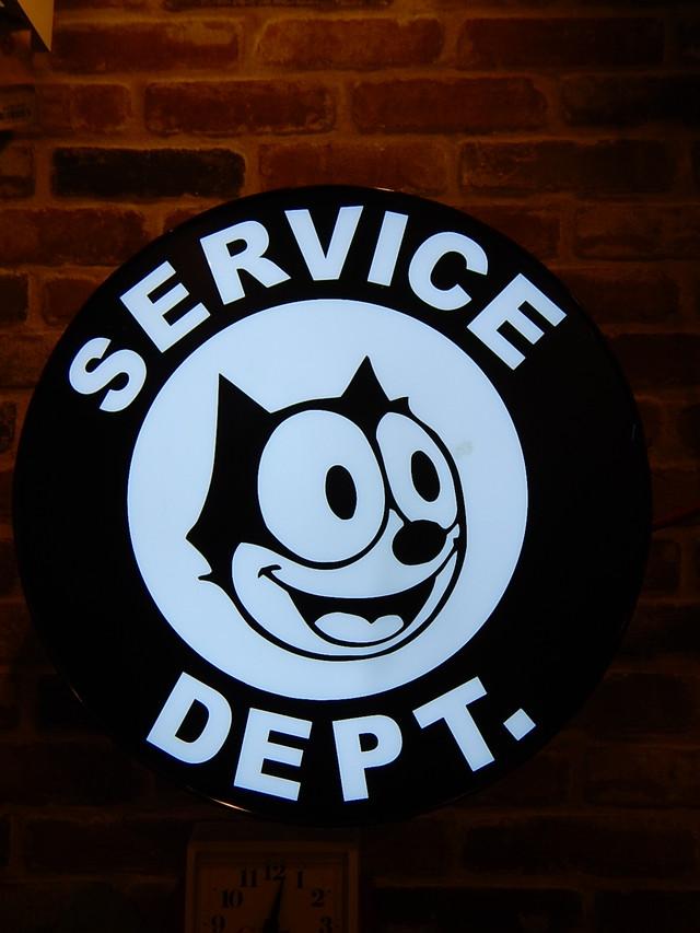 品番2628 ボックスサイン フィリックス・ザ・キャット Felix the Cat 看板 ヴィンテージ 011