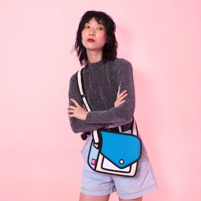【Jump From Paper】JFP165 ショルダーバッグ(小)レッド Color Me In Collection / Junior Giggle Shoulder Bag 正規輸入品