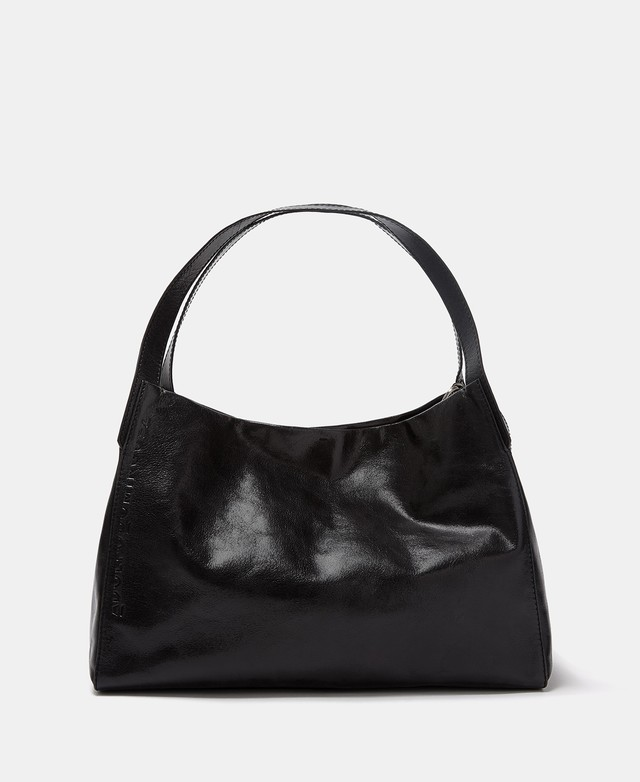 CRACKED LEATHER SHOPPER BAG [266212118102]