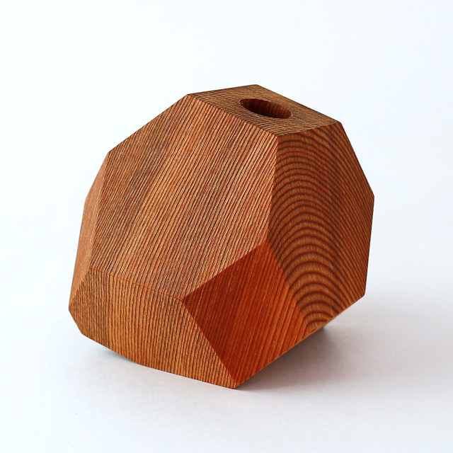 FUQUGI(フクギ)B 一点物シリーズ  VASE ナチュラル 一輪挿し 観葉植物 vase
