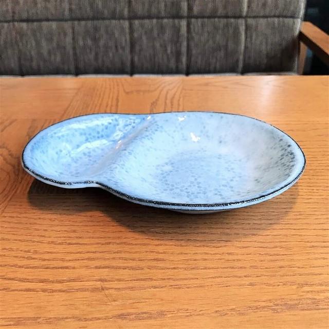 田中アルバ 13-4 サシミ皿(青)