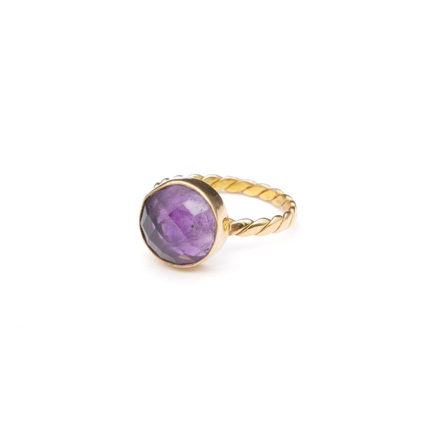 SINGLE STONE NON-ADJUSTABLE RING 023