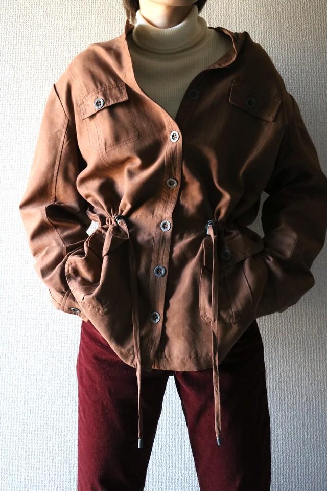Vintage fake suede jacket