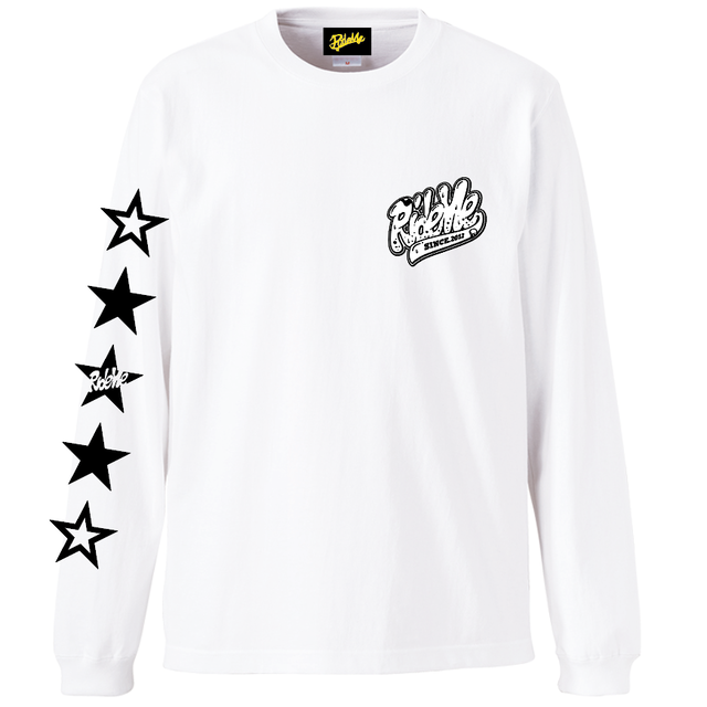 RideMe(ライドミー) | STAR LONG Tee(WHITE)