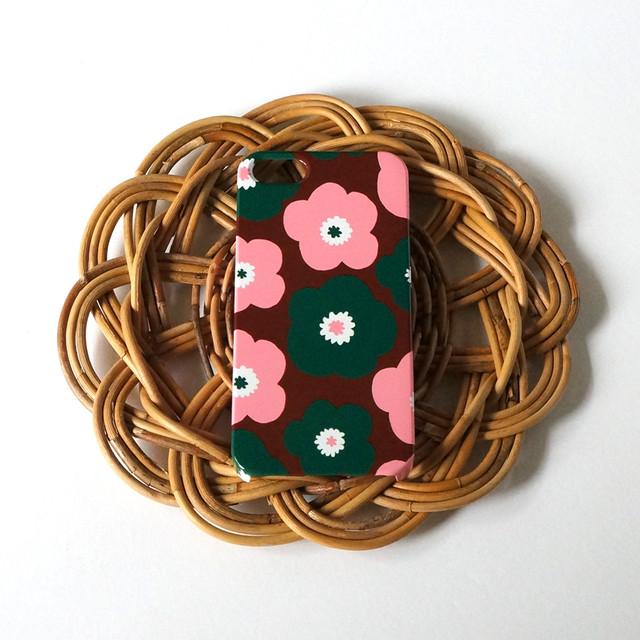 ハード型スマホケース popy ( brownie × strawberry × angelica ) 【iPhone/Android 各機種対応】