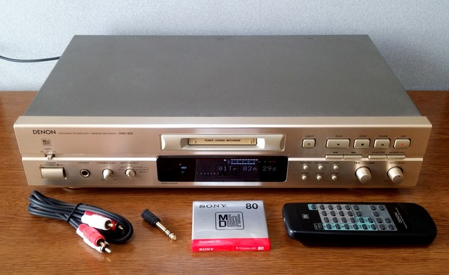 MD レコーダー DENON DMD-800 録音良好・美品・完動品