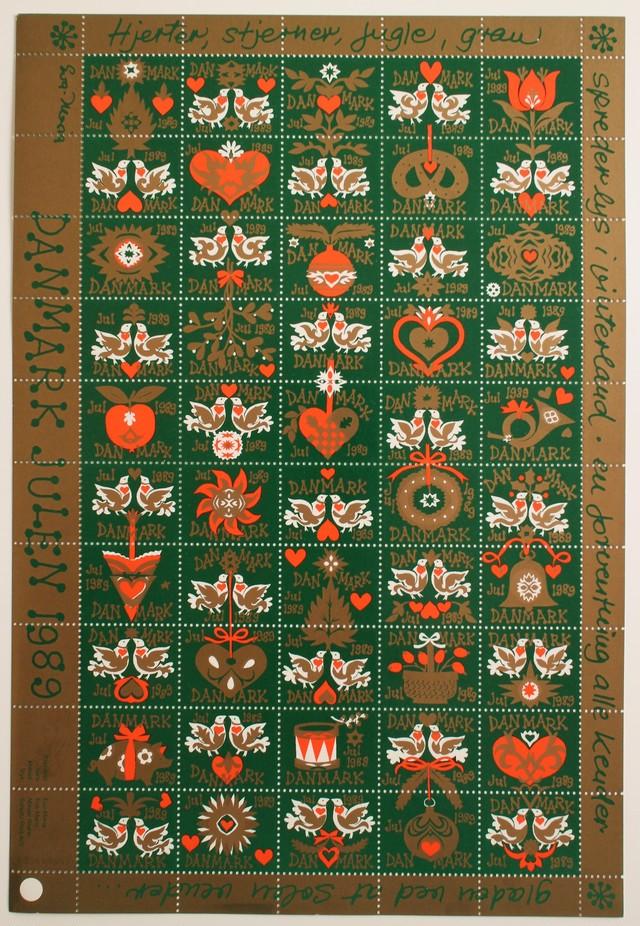 クリスマスシール / デンマーク 1977