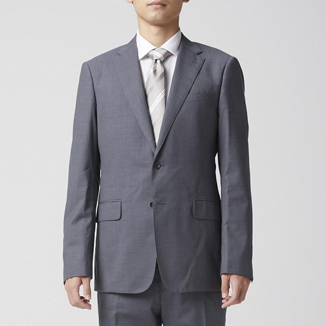 MEN ジャケット テーラード ビジネススーツ YA7 ライトグレー