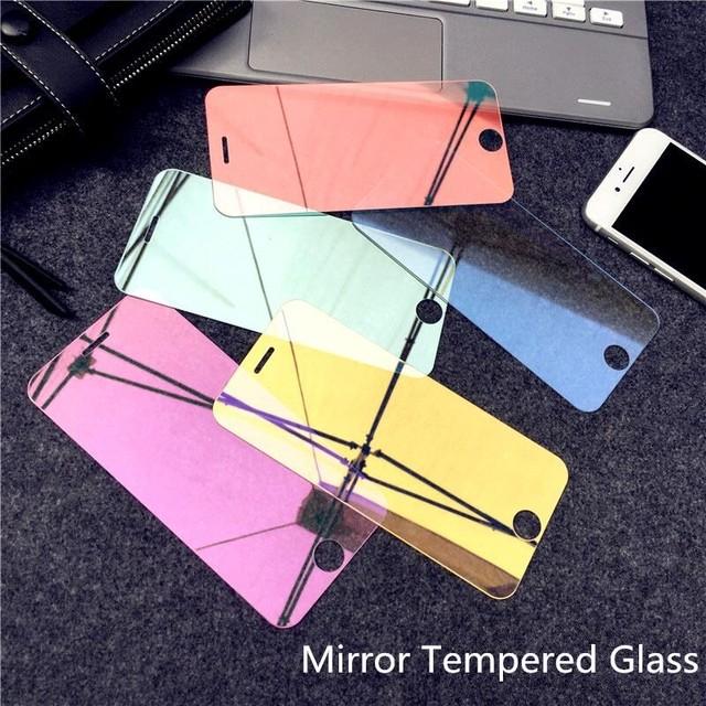 液晶保護フィルム  9H Colorful mirror film