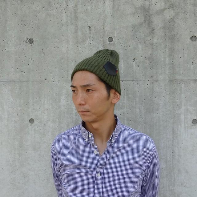 KNIT CAP (KHAKI)