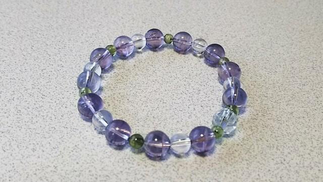 【紫陽花ブレス】ラベンダーアメジスト