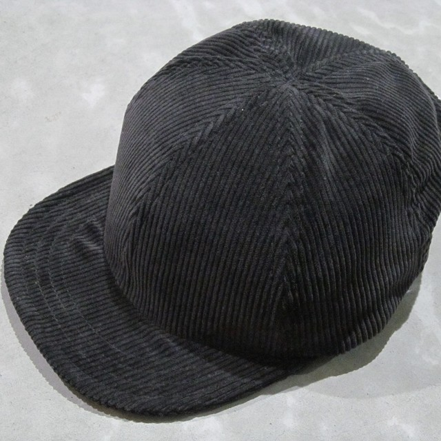 90S LEVIS 565 BLACK CORDUROY MODIFIED CAP