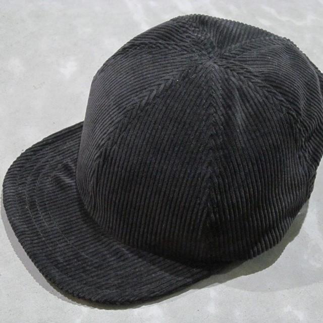 90S LEVIS 565 BLACK CORDUROY MODIFIED CAP