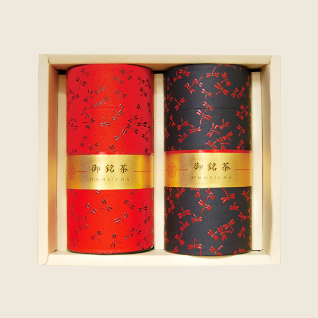 和紙缶セット(初摘み80g×2缶)