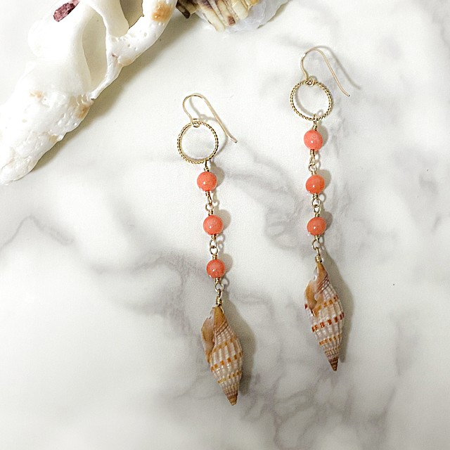 Orange Snail × Coral Pierce