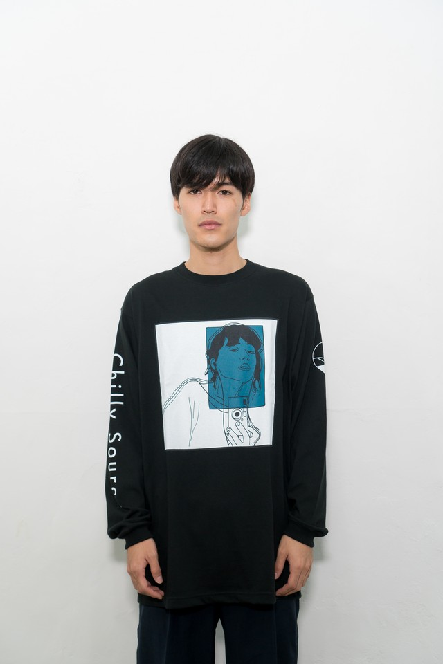 Chilly Long Tee【Black】illmore Exclusive 音源DLコード付録
