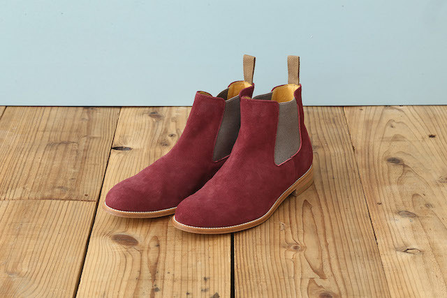 SIDE GORE BOOTS (SUEDE)