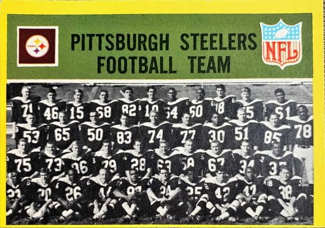 NFLカード 67PCG&SPCE STEELERS チームカード #145