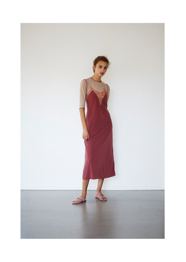Satin slip dress 2