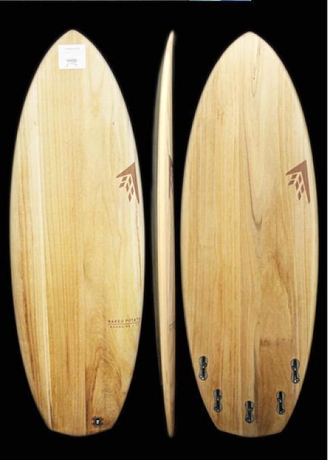 Firewire Baked Potato 5'7 x 22 1/8 x 2 5/8 39.9L 5-Fin TimberTek Surfboard