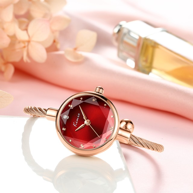 Kimio AF-Z1688 Ruby レディース腕時計