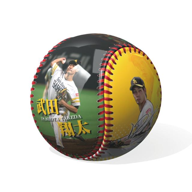 サイン入り写ボール 武田選手