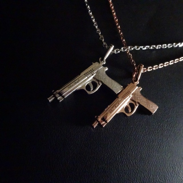 Pistol Necklace