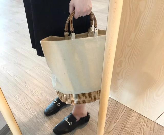 ◆予約◆canvas basket bag