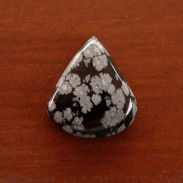 スノーフレークオブシディアン 天然石ルース