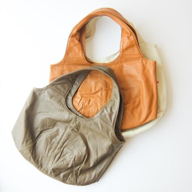 Permanent Age パーマネントエイジ - カウレザーバルーンバッグ - 全6色