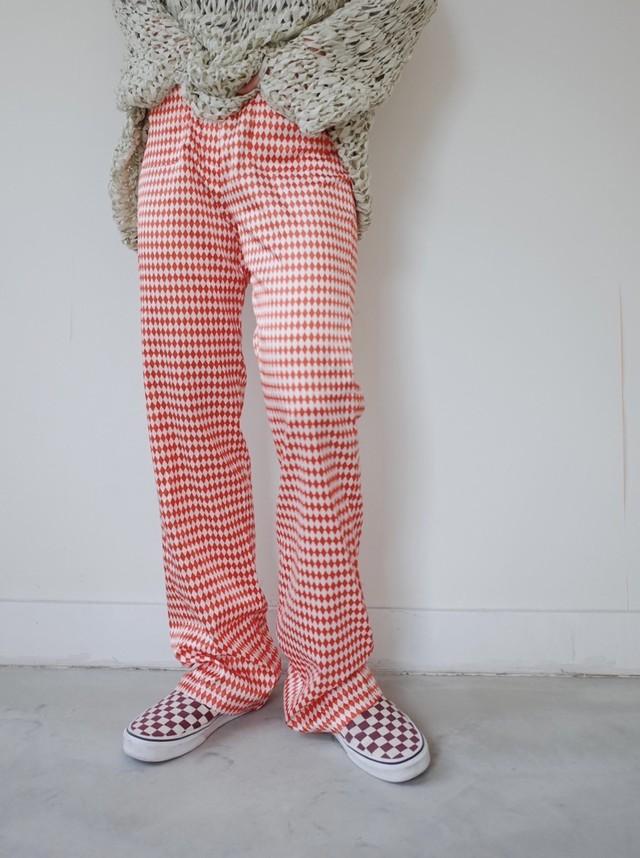 used Harrikin check pants