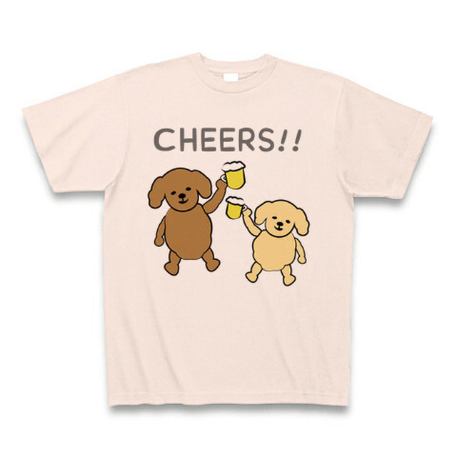CHEERS!! (poodle) -light pink-
