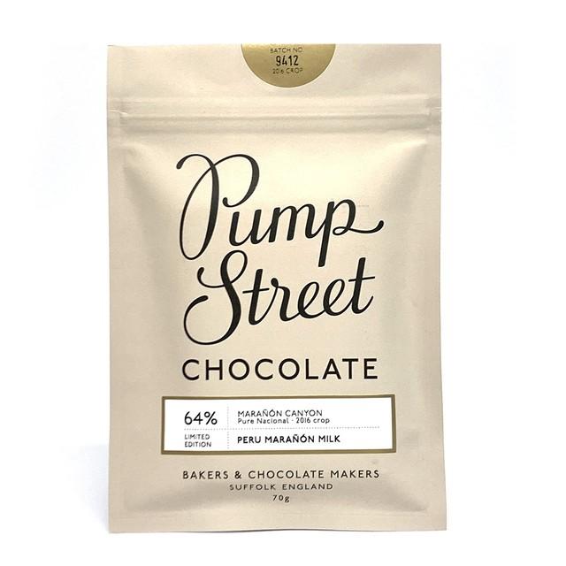 パンプストリートベーカリーチョコレート ペルーマラニョンミルク64%