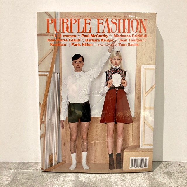 BOOK / PURPLE FASHION  magazine F/W 2014/2015 Issue 22