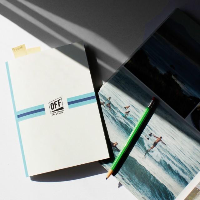 OFF(オフ)office note A5 ノート ブランド レディース ビジネス ビジネスノート オフィスノート スクールノート メモ帳