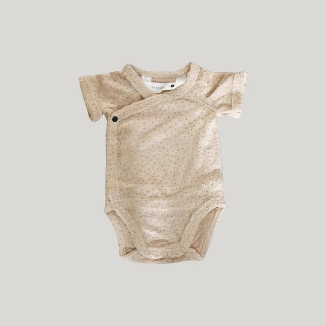 ・Teddy Romper-Sand