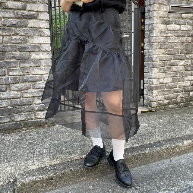 puff organdy skirt 2c's