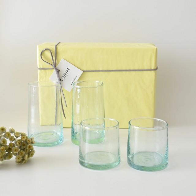 モロッコガラス ギフトセットA