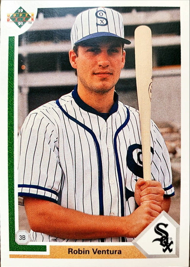MLBカード 91UPPERDECK Robin Ventura #263 WHITE SOX